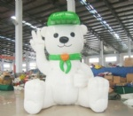 Inflatable bear