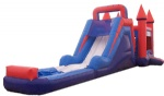 Inflatable combo jump&slide