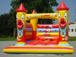 inflatable clown bouncer