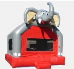 inflatable elephant bouncer